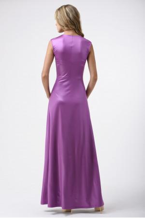 Платье «Мартина» сиреневого цвета