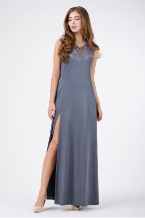 Платье «Мартина» серого цвета