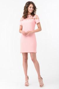 Платье «Кармель» розового цвета