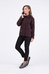Жакет «Виста» коричневого цвета