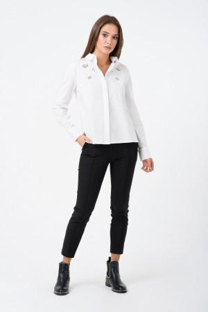 Блуза «Кайса» белого цвета