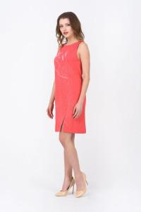 Сукня «Мішлен» коралового кольору
