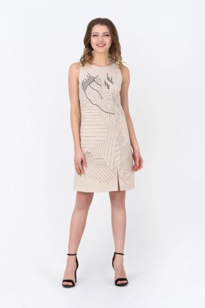Сукня «Мішлен» бежевого кольору