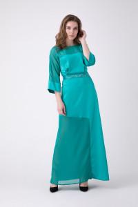 Платье «Дэзире» мятного цвета
