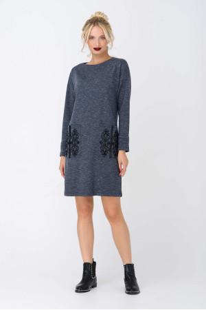 Сукня «Веліна» сірого кольору