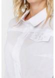 Блуза «Найрі» білого кольору