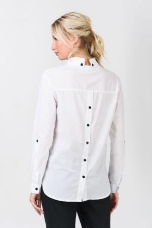 Блуза «Ліма» білого кольору