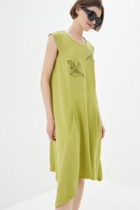 Сукня «Бреймі» лаймового кольору