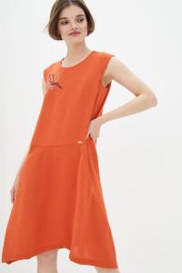 Сукня «Бреймі» помаранчевого кольору