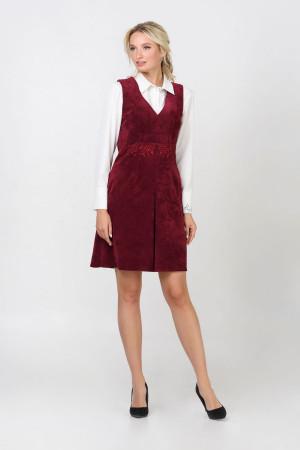 Сукня «Беррі» бордового кольору