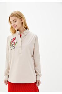Блуза «Вірен» бежевого кольору
