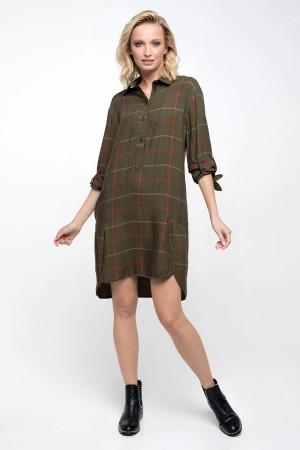 Платье «Марлин» зеленого цвета