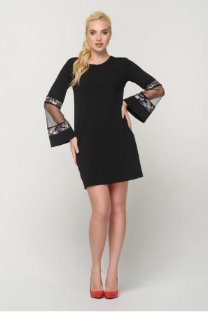 Платье «Гояна» черного цвета