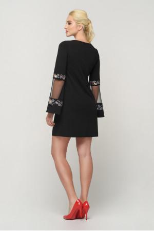 Сукня «Гояна» чорного кольору