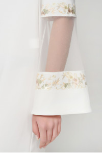 Платье «Гояна» белого цвета