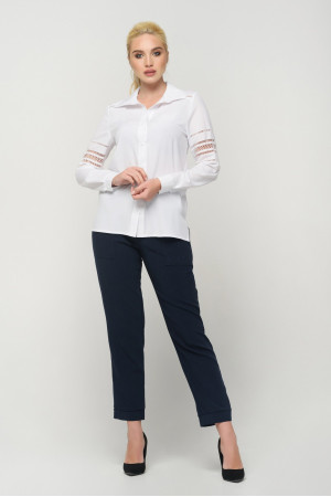 Блуза «Агота» білого кольору