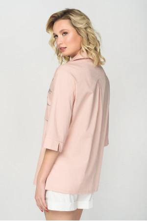 Блуза «Вівіан» персикового кольору