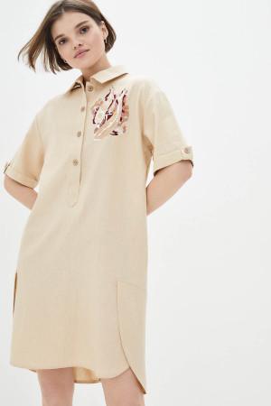 Платье «Джаспер» бежевого цвета