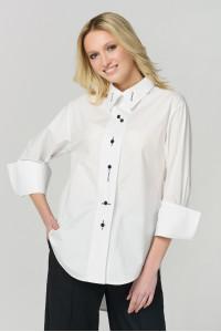 Блуза «Леванта» білого кольору