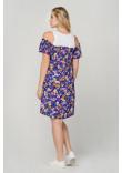 Сукня «Селім» синього кольору