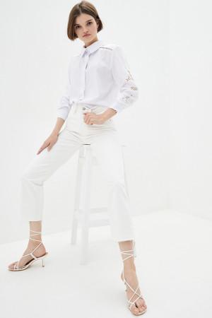 Блуза «Латіша» білого кольору