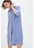 Сукня «Фройс» темно-синього кольору
