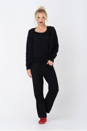 Жакет «Беллоу» черного цвета