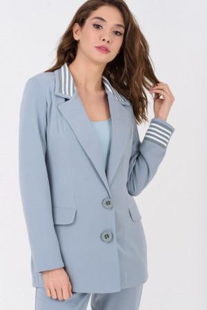 Жакет «Карді» блакитного кольору