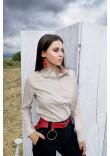 Блуза «Джесс» бежевого кольору