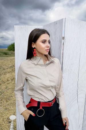 Блуза «Джэсс» бежевого цвета