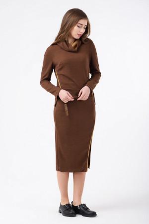 Костюм «Лим» коричневого цвета