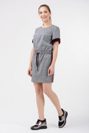 Платье «Корфу» серого цвета