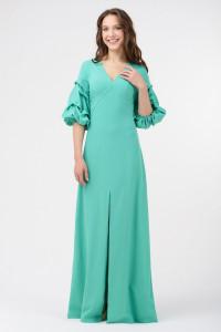 Платье «Патрис» зеленого цвета