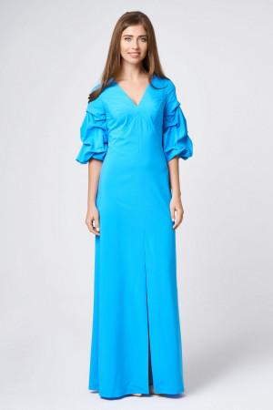 Платье «Патрис» голубого цвета