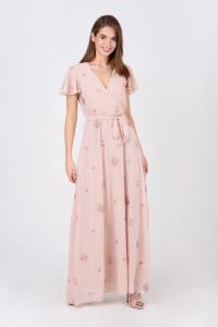 Платье «Марисса» пудрового цвета
