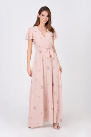 Сукня «Марісса» пудрового кольору