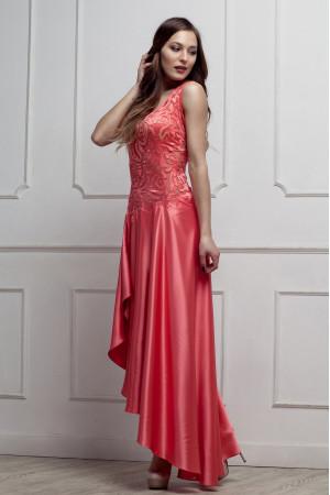 Платье «Филлис» кораллового цвета