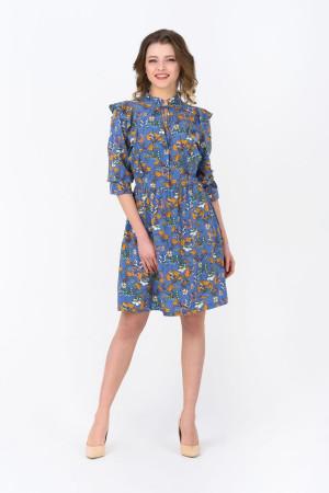 Сукня «Дрейк» синього кольору