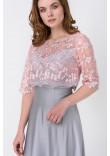 Сукня «Івія» сірого кольору