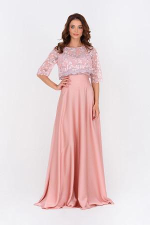 Платье «Ивия» розового цвета