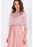 Сукня «Івія» рожевого кольору