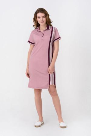 Платье «Одис» пудрового цвета