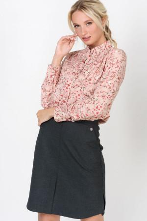 Блуза «Петра» кольору пудри