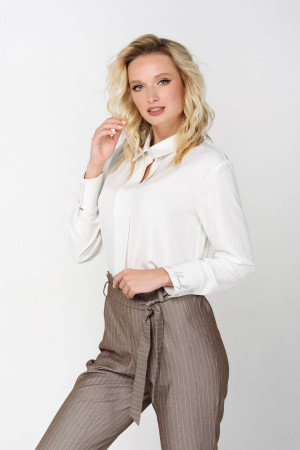 Блуза «Айри» молочного цвета