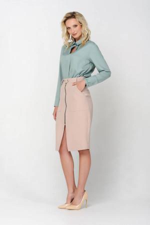 Блуза «Айрі» кольору м'яти