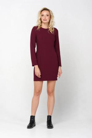 Платье «Тэффи» бордового цвета