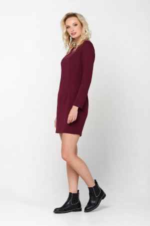 Сукня «Теффі» бордового кольору