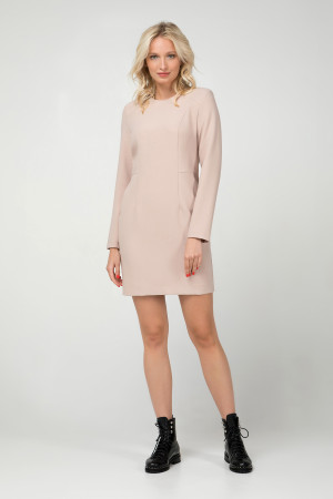 Платье «Тэффи» бежевого цвета