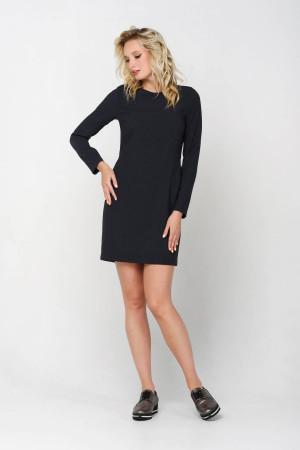 Платье «Тэффи» серого цвета