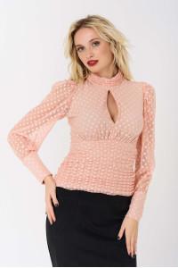 Блуза «Лестер» розового цвета